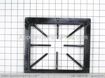 Dacor Grate, Black (gc) 82458BP from AppliancePartsPros.com