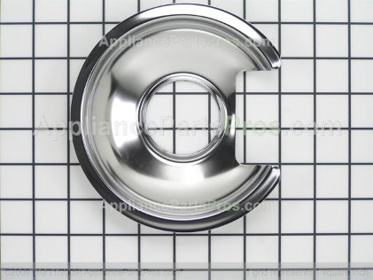 "Frigidaire 6"" Chrome Drip Pan A316221501 from AppliancePartsPros.com"