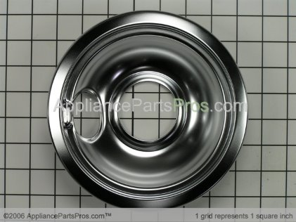 Frigidaire 6 Inch Drip Pan 5303280336 from AppliancePartsPros.com
