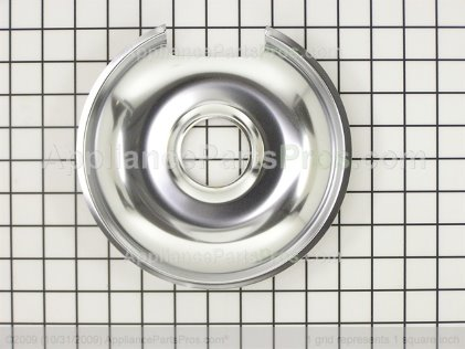 "Frigidaire 8"" Chrome Drip Bowl A316222101 from AppliancePartsPros.com"
