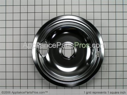 Frigidaire 8 Inch Large Drip Pan 5303935054 from AppliancePartsPros.com