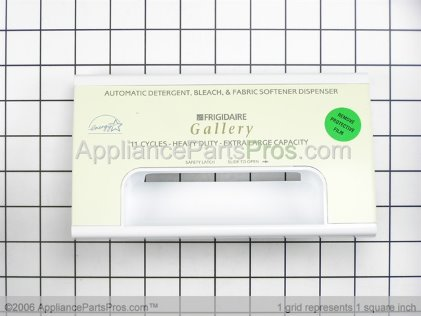 Frigidaire Asmy-Dispenser Drwr/hand 131691229 from AppliancePartsPros.com