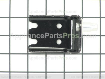 Frigidaire Bracket-Lower Hinge, Black 240314003 from AppliancePartsPros.com
