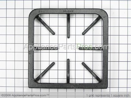Frigidaire Burner Grate 316213800 from AppliancePartsPros.com