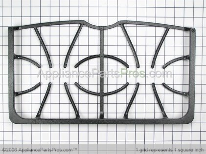 Frigidaire Burner Grate 316424601 from AppliancePartsPros.com