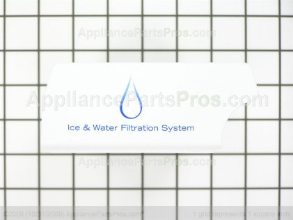 Frigidaire Water Filter Bypass 242227702 from AppliancePartsPros.com