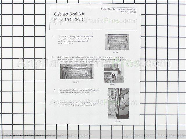 Frigidaire 154528701 Cabinet Seal Kit - AppliancePartsPros.com