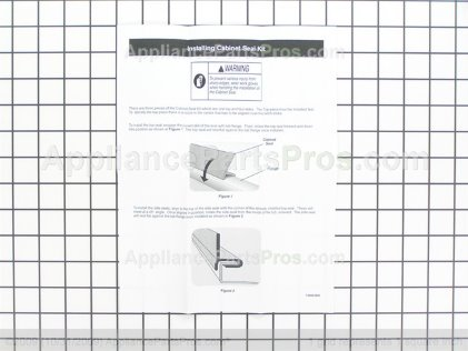Frigidaire Cabinet Seal Kit 154662101 from AppliancePartsPros.com
