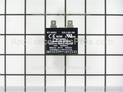 Frigidaire Capacitor-Run 297286802 from AppliancePartsPros.com
