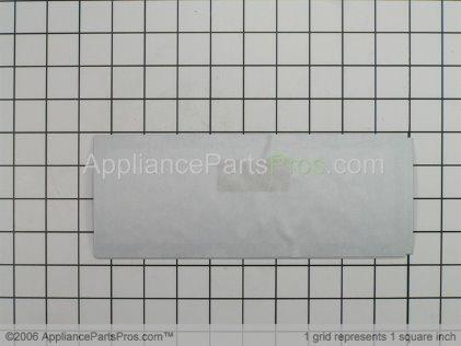 Frigidaire Clock Overlay (white) 316220804 from AppliancePartsPros.com