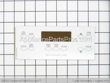 Frigidaire Clock/timer, Eoc, White, with Overlay 5303935107 from AppliancePartsPros.com