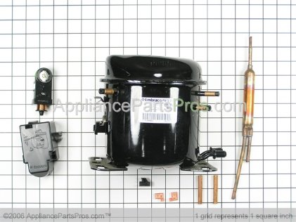 Frigidaire Compressor 5304476641 from AppliancePartsPros.com