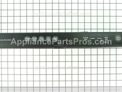 Frigidaire Console Panel 154639209 from AppliancePartsPros.com