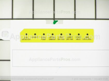 Frigidaire Control Assembly 154750502 from AppliancePartsPros.com