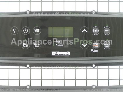 Frigidaire Control Panel Assy. 318284920 from AppliancePartsPros.com