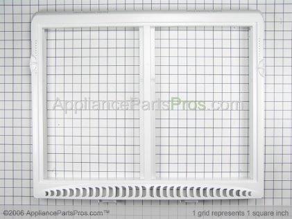 Frigidaire Cover Frame-Crisper Pan 240364718 from AppliancePartsPros.com