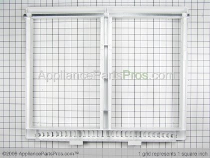 Frigidaire Cover Frame-Crisper Pan 240364718 from AppliancePartsPros.com
