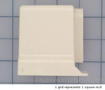 Frigidaire Cover/kckplt End 215003803 from AppliancePartsPros.com