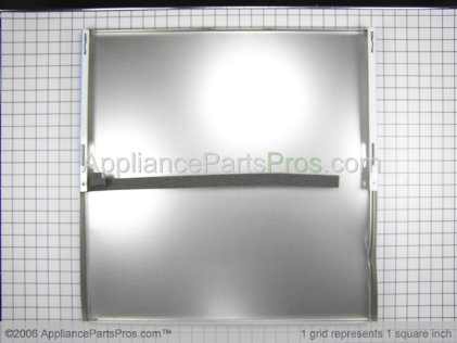 Frigidaire Door Panel, White 154359105 from AppliancePartsPros.com