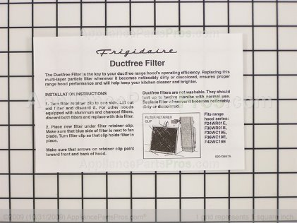 Frigidaire Ductfree Kit DFKIT306PK from AppliancePartsPros.com