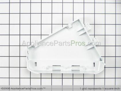 Frigidaire End Cap-Left White 131122711 from AppliancePartsPros.com