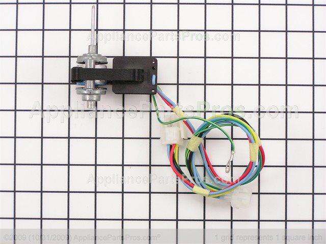 Frigidaire 241854301 evaporator fan motor for How to test refrigerator evaporator fan motor