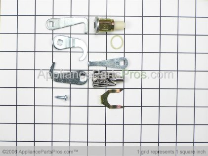 Frigidaire Freezer Door Lock Kit with Key 5303925437 from AppliancePartsPros.com