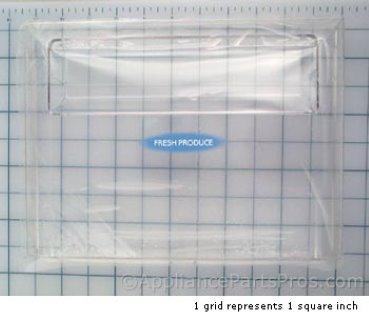 Frigidaire Front-Crisper Pan 215357408 from AppliancePartsPros.com
