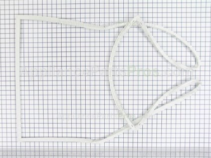 Frigidaire Gasket-Door, White 216481401 from AppliancePartsPros.com