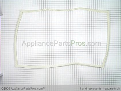 Frigidaire Gasket, Refrigerator-Almond Old# 5303297557 from AppliancePartsPros.com
