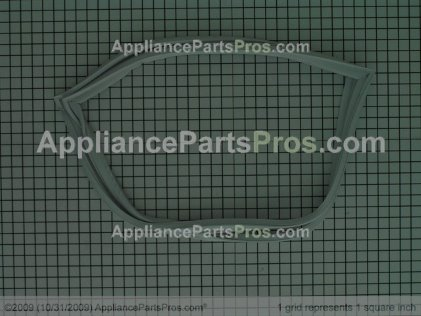 Frigidaire Gasket-Refrigerator Door, White, Magnetic 215732415 from AppliancePartsPros.com