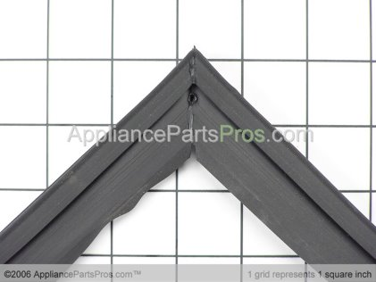 Frigidaire Gasket-Refrigerator Door, Black , Magnetic 218730616 from AppliancePartsPros.com