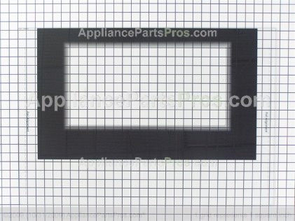 Frigidaire Glass, Door (blk) 316408503 from AppliancePartsPros.com