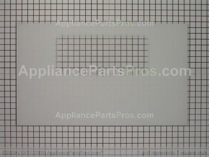 Frigidaire Glass`door Kit `white `outer `w/ Foil Tape 5303935204 from AppliancePartsPros.com