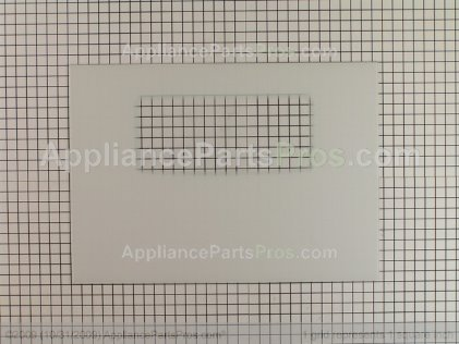 Frigidaire Glass,outer Dr Wht 316406403 from AppliancePartsPros.com