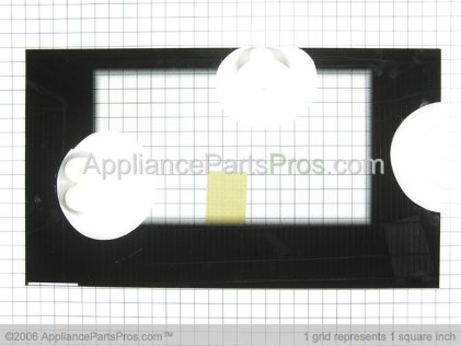 Frigidaire Glass`oven Door `black `outer 316240000 from AppliancePartsPros.com