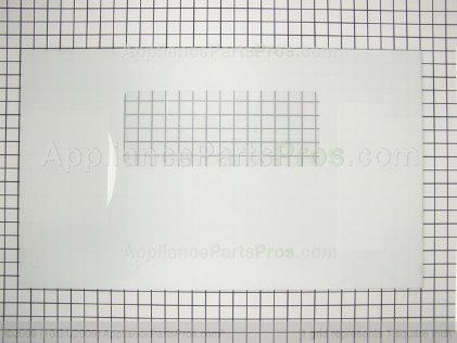 Frigidaire Glass, Oven Door , White , Outer 5303311191 from AppliancePartsPros.com