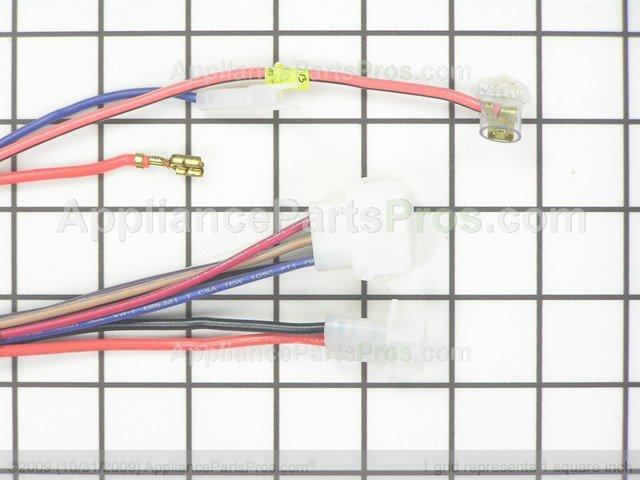 frigidaire 134119400 harness lcd elec appliancepartspros