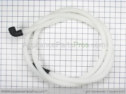Frigidaire Hose-Drain 154225602 from AppliancePartsPros.com