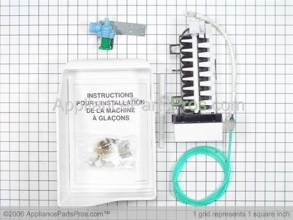 Frigidaire Icemaker, Complete Add on Kit. 218736300 from AppliancePartsPros.com