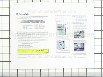Frigidaire Im Service Kit 5303918495 from AppliancePartsPros.com