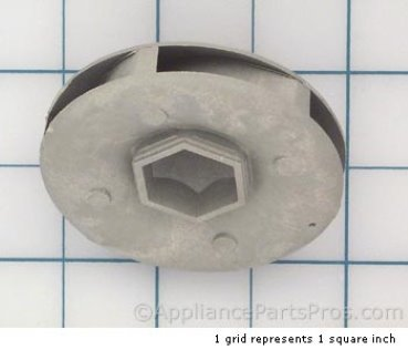 Frigidaire Impeller-Upper 154085301 from AppliancePartsPros.com