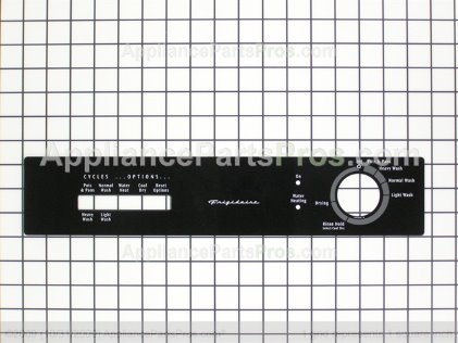 Frigidaire Insert,control Panel ,black 154418603 from AppliancePartsPros.com
