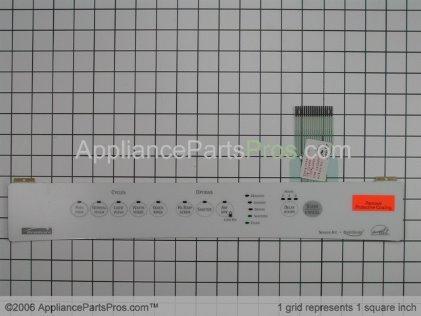 Frigidaire Insert,control Panel,white,w/s 154433701 from AppliancePartsPros.com