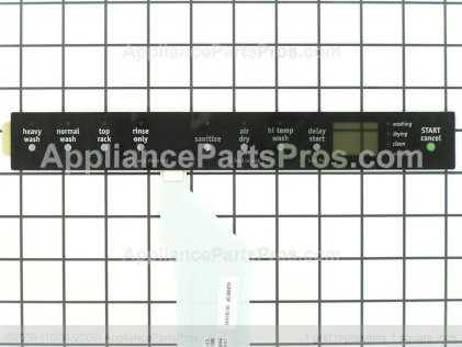 Frigidaire Insert,control Panel, 154778003 from AppliancePartsPros.com