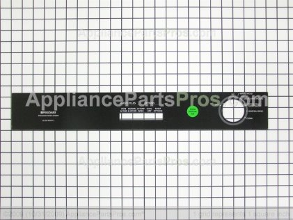 Frigidaire Insert-Control Pnl, Black 154333803 from AppliancePartsPros.com