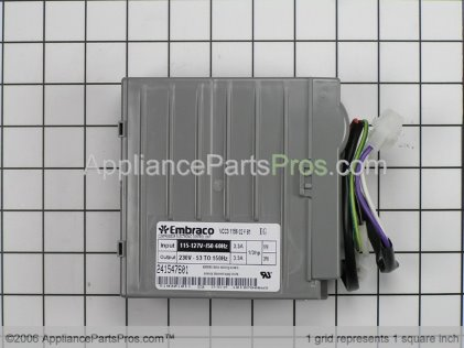 Frigidaire Inverter 241577501 from AppliancePartsPros.com