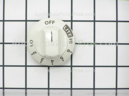 Frigidaire Knob 316240703 from AppliancePartsPros.com