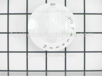 Frigidaire Knob, Control , White 318196140 from AppliancePartsPros.com