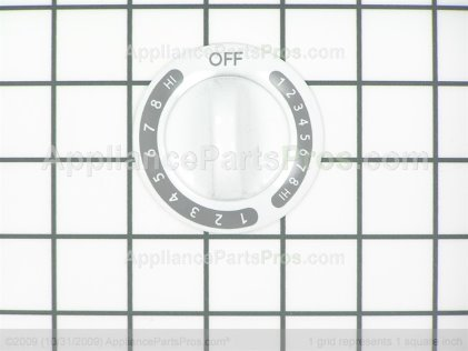 Frigidaire Knob-Surface White 318016301 from AppliancePartsPros.com